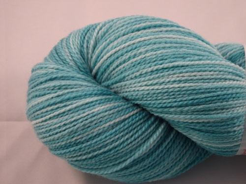 Tempting Teal WGW 4ply Merino/Nylon Sock Yarn
