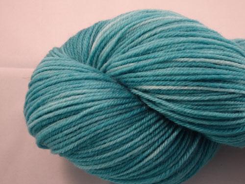 Tempting Teal SW Merino/Cashmere/Nylon Sock Yarn