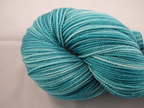 Tempting Teal SW Merino Sock Yarn
