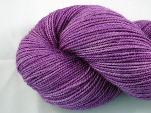 Vivid Violet SW Merino Sock Yarn