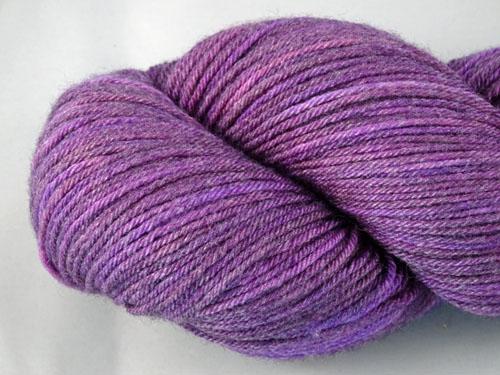 Vivid Violet Superwash Merino/Bamboo/Silk Sock Yarn