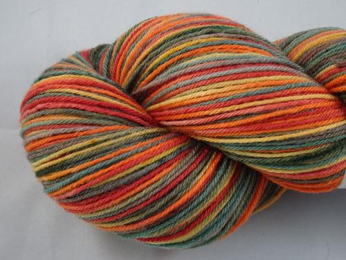 Wishing For Autumn Superwash Merino/Nylon Sock Yarn